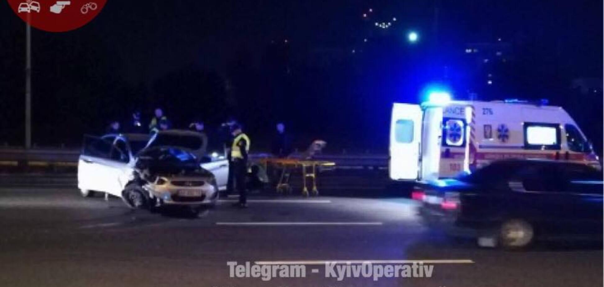 В Киеве пьяный водитель устроил погоню с полицией: стали известны подробности