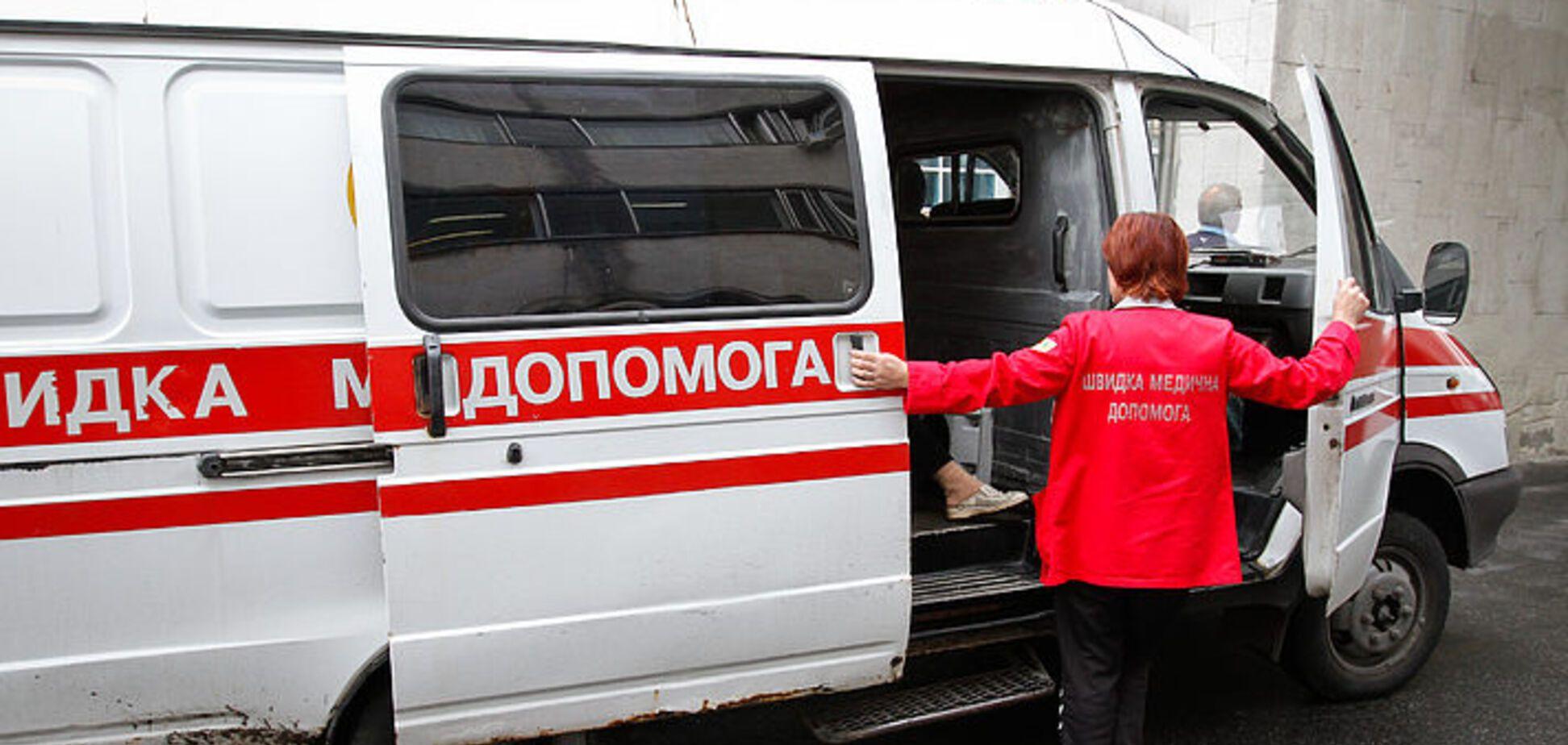 Весь в черном и с питбулем: в Киеве совершили жестокое нападение на мужчину