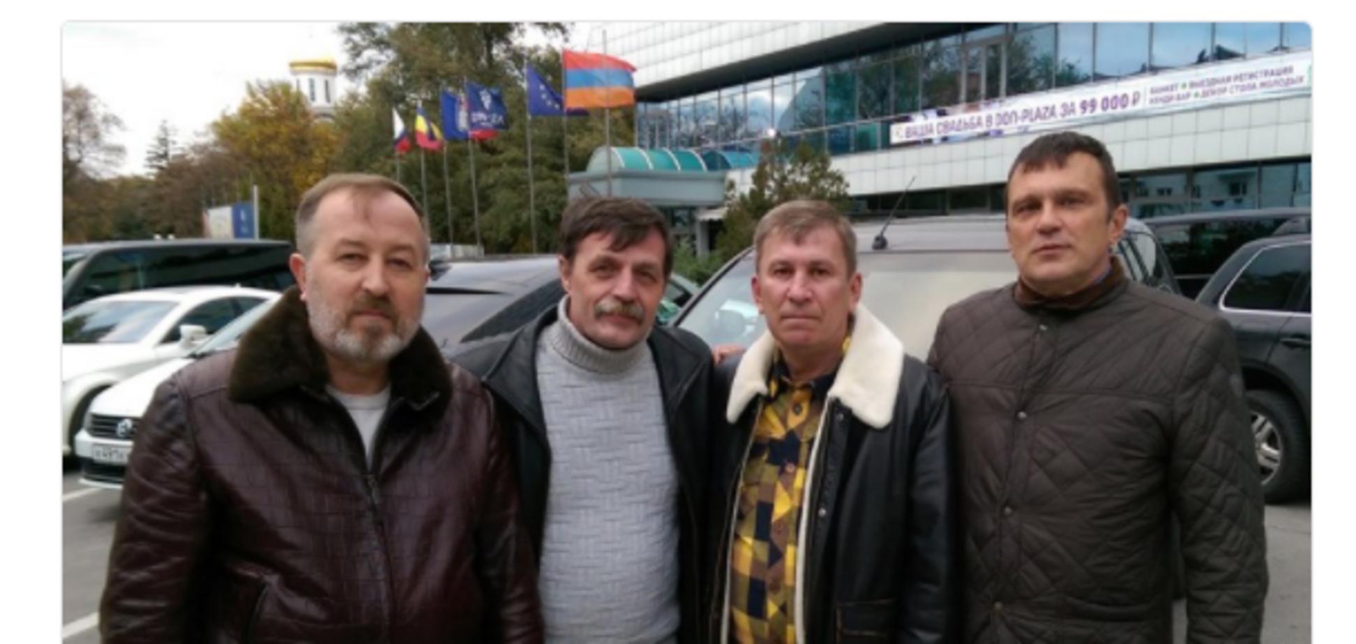 'Хмурий', 'Біс' і компанія: ватажки терористів Донбасу зустрілися в Росії