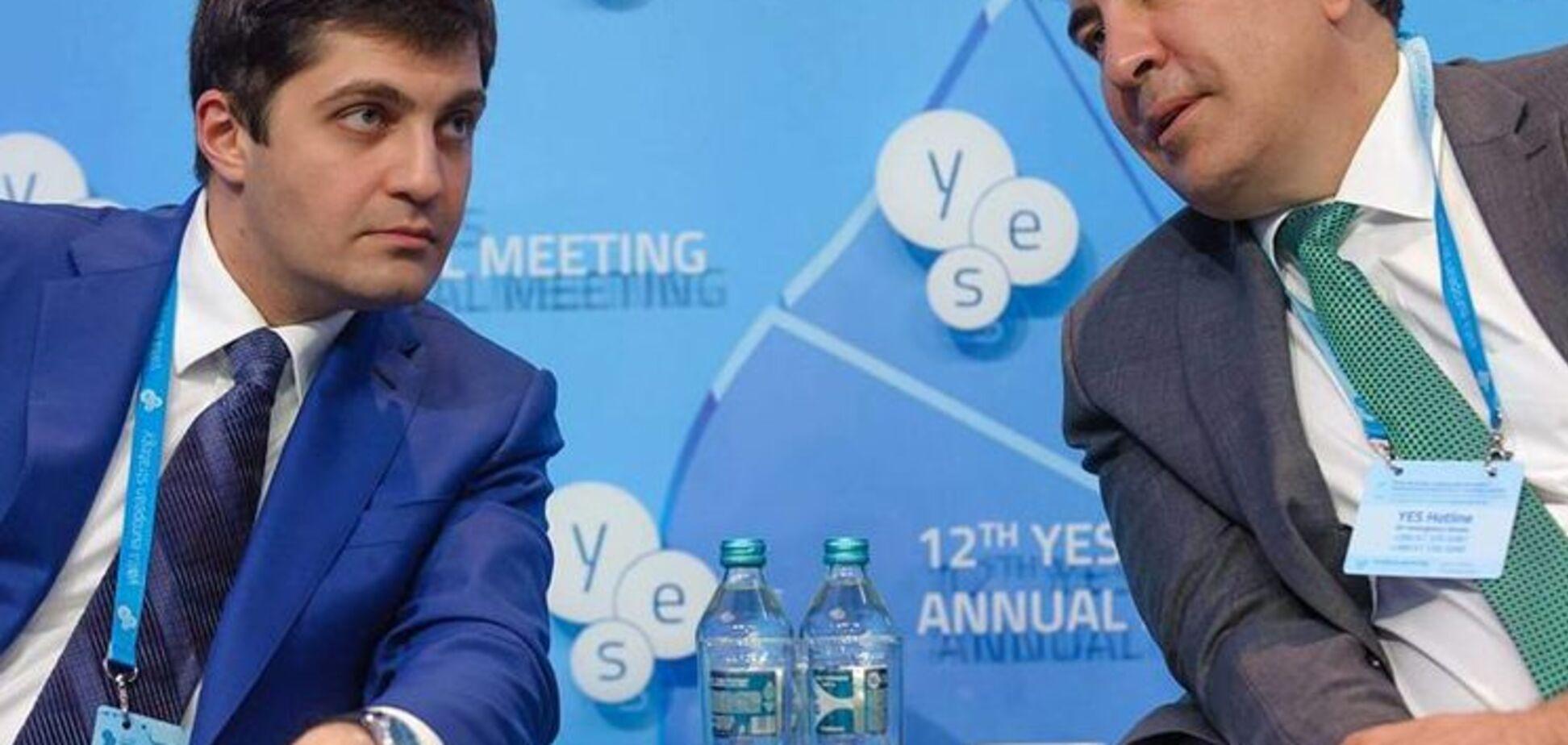 Саакашвили и сакварелидзе