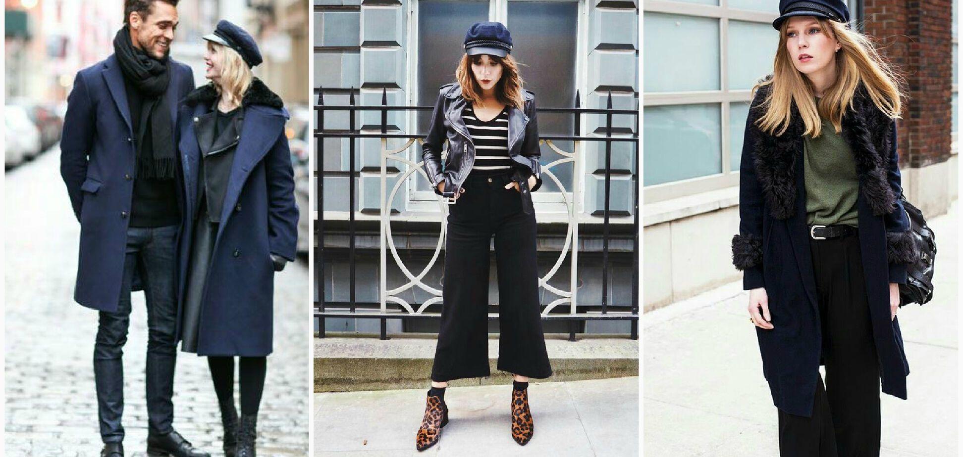 Самые модные шапки сезона 'осень-зима'