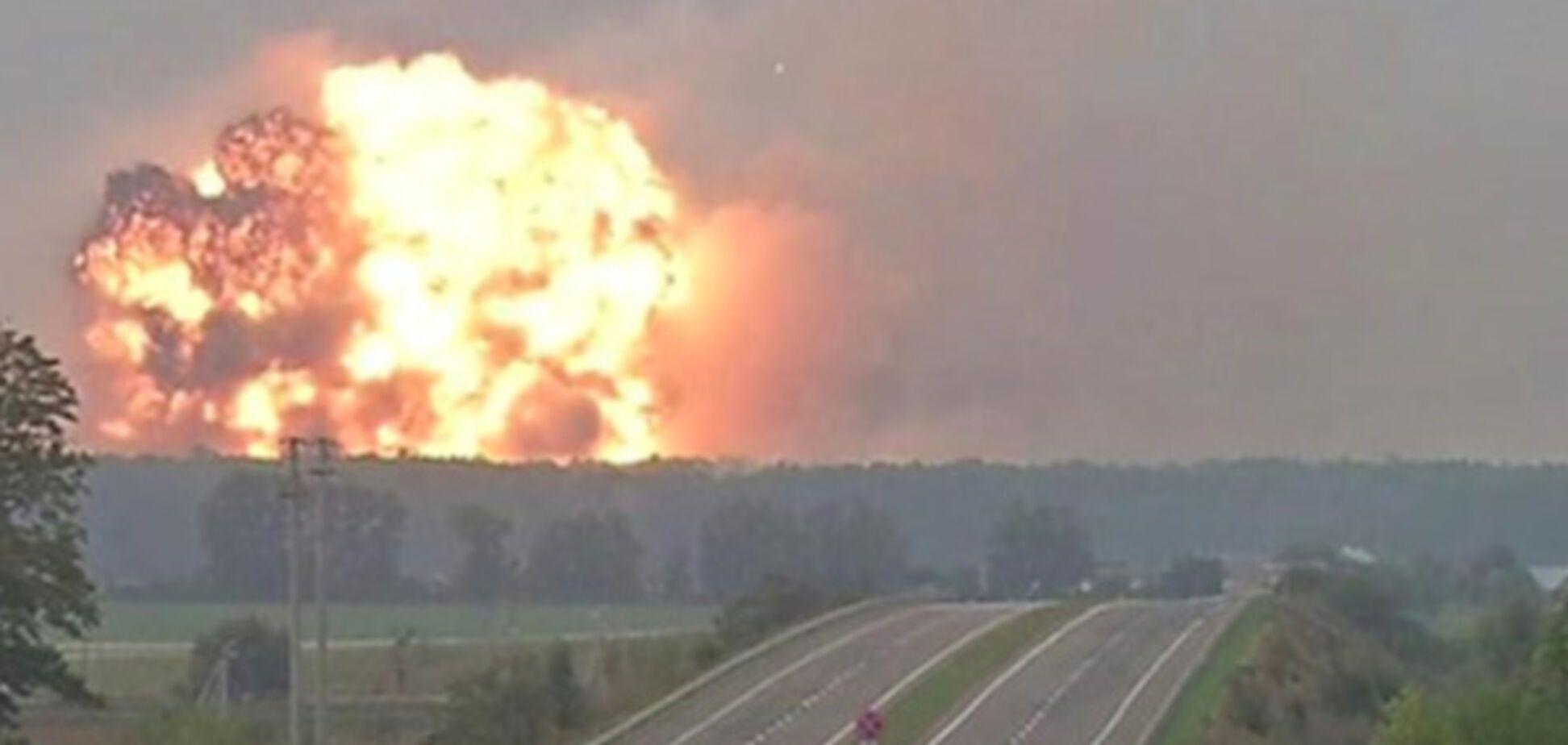Пожар на Калиновке