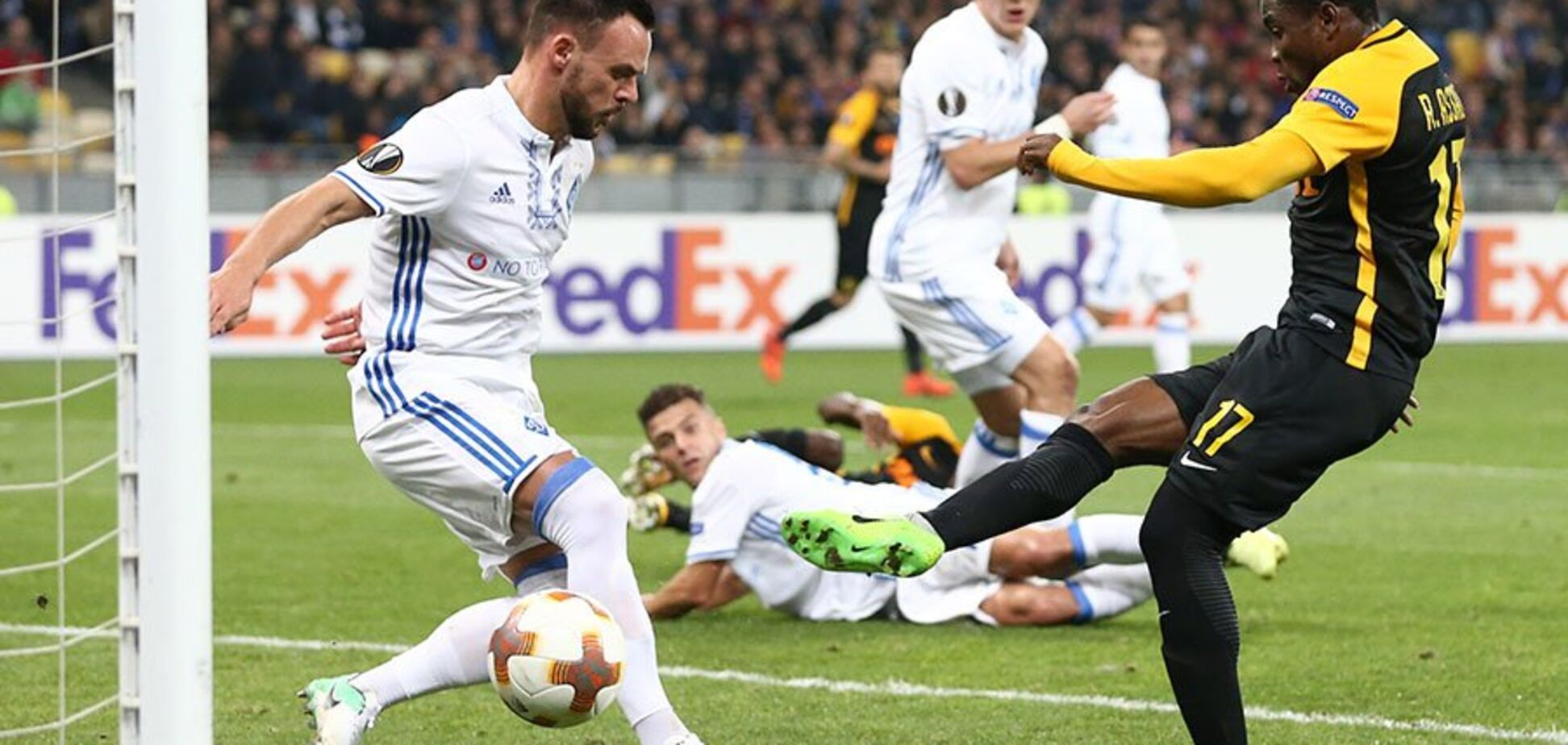 Динамо - Янг Бойз: дивитися відео огляд матчу Ліги Європи
