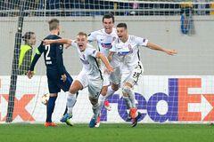 Шедевры 'Зари' и кровь 'Динамо': Украина в 3-м туре Лиги Европы