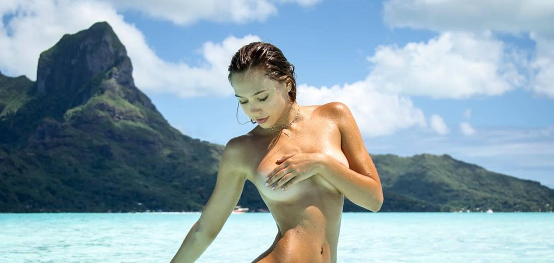 Самая популярная фитнес-модель Instagram снялась полуобнаженной для знаменитого журнала