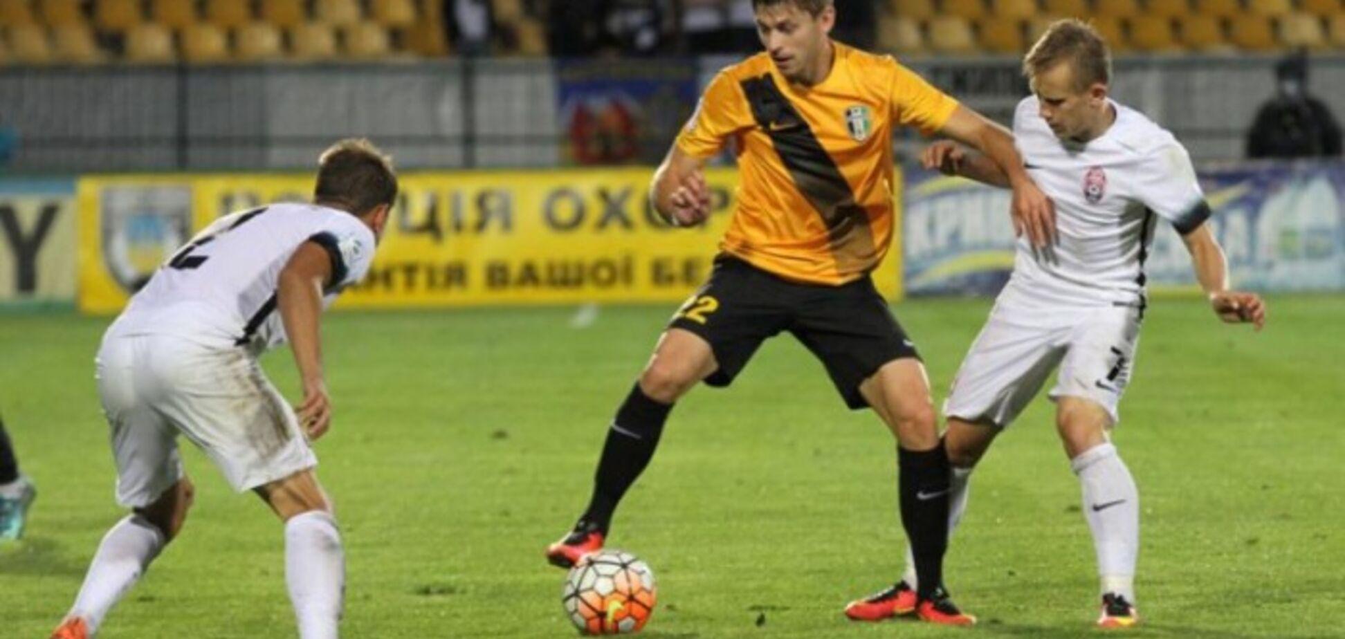Футболист 'Александрии' забил шикарный гол в девятку: видео шедевра
