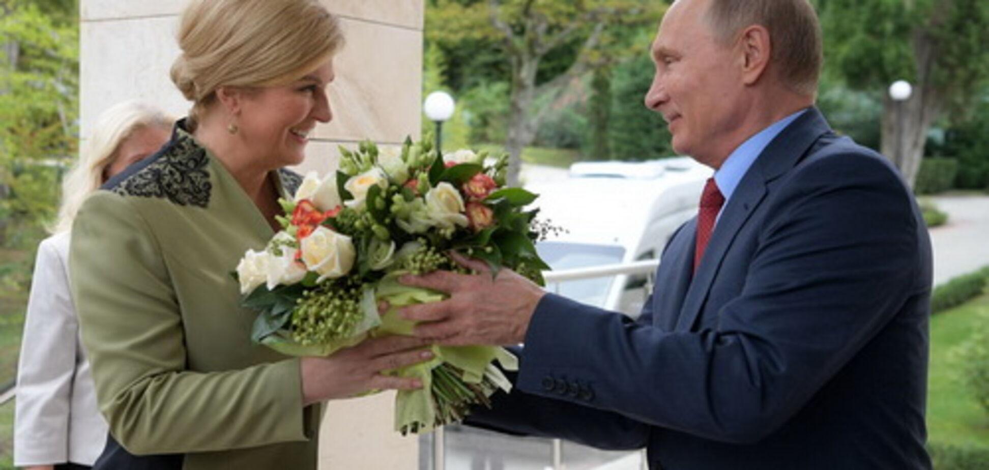 Подвійна гра ЄС: що вирішувала президент Хорватії у Росії