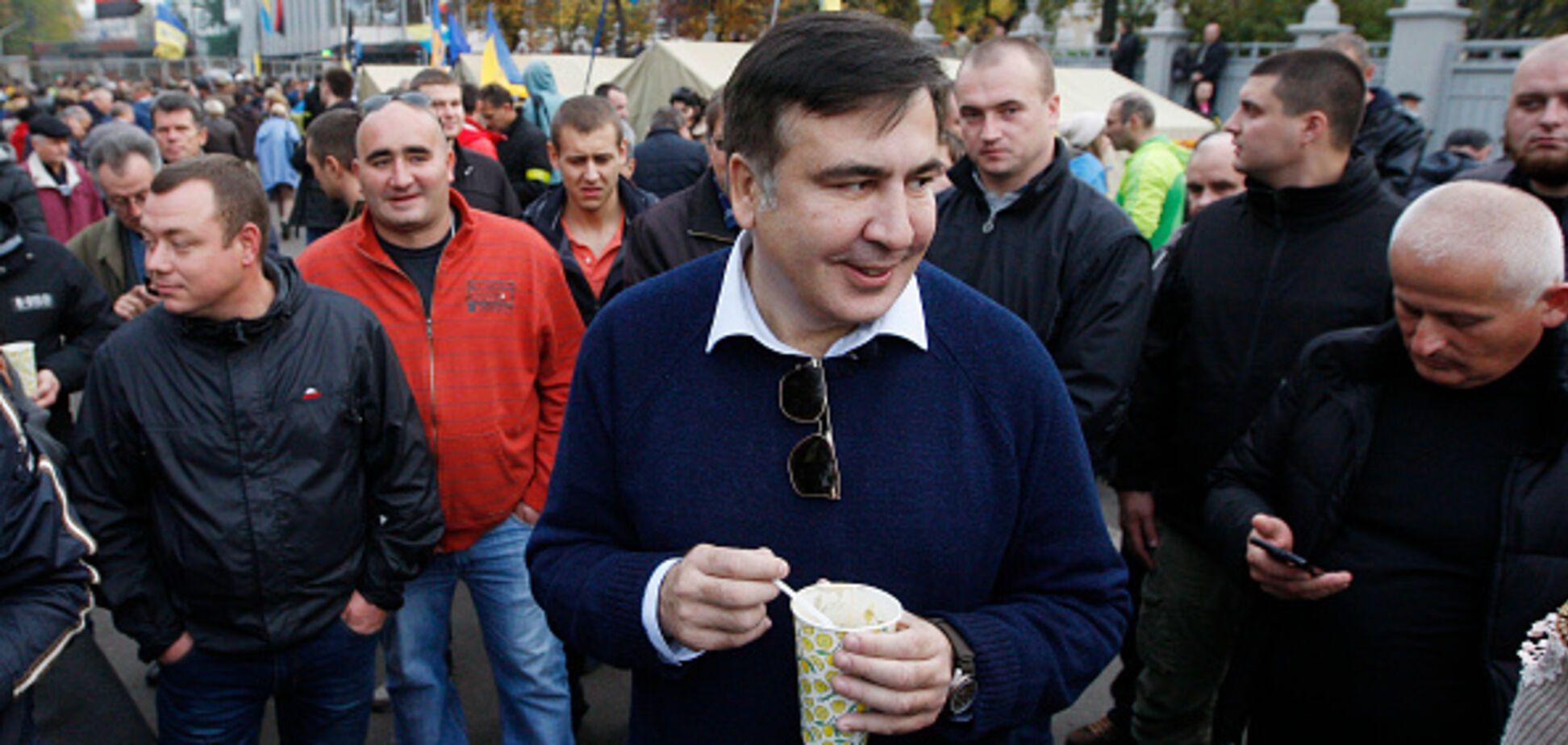 'Сексуальная революция под Радой': в сети поиздевались над 'бедной' акцией Саакашвили