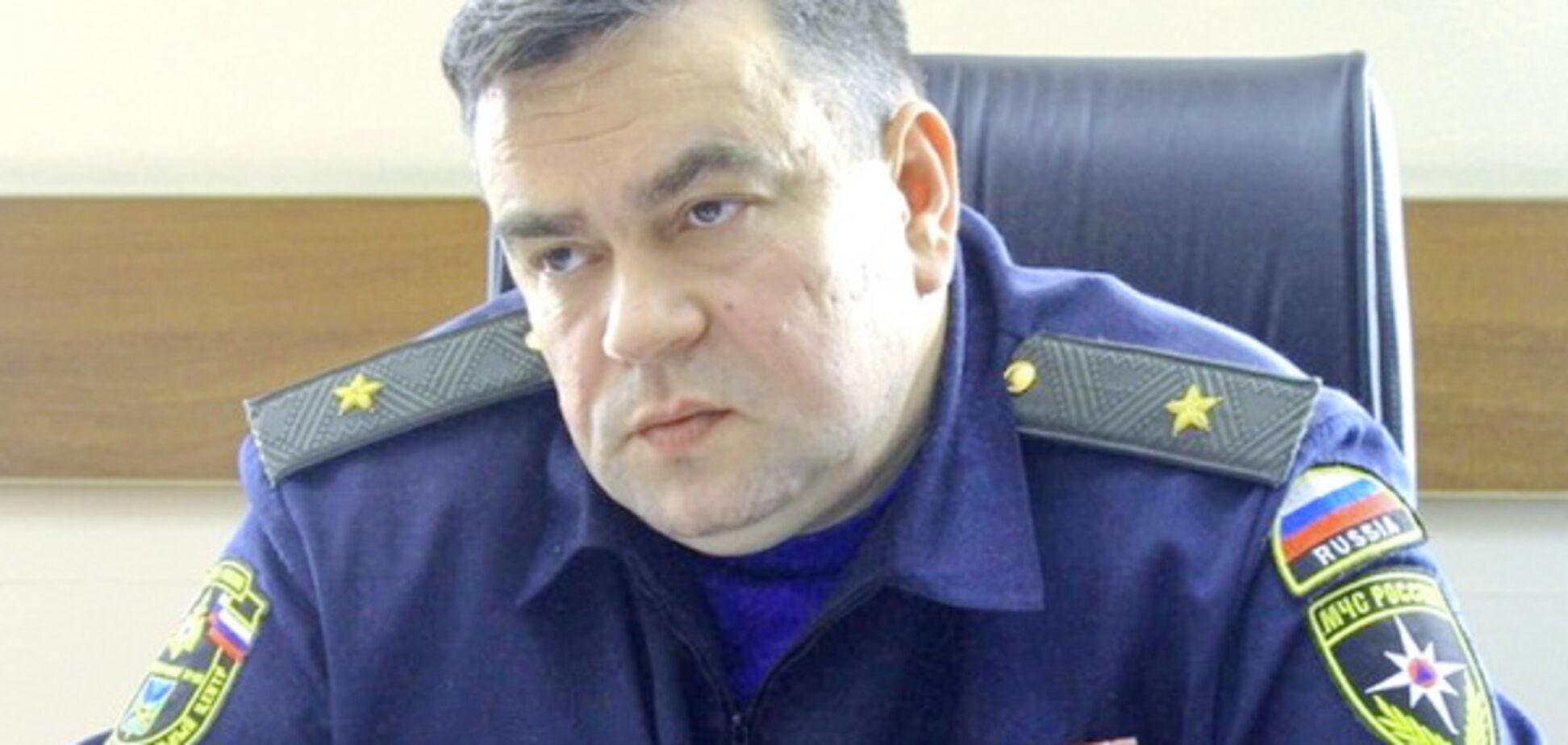 Замечен в Донецке: российского генерала тепло приняли в 'Чистилище'