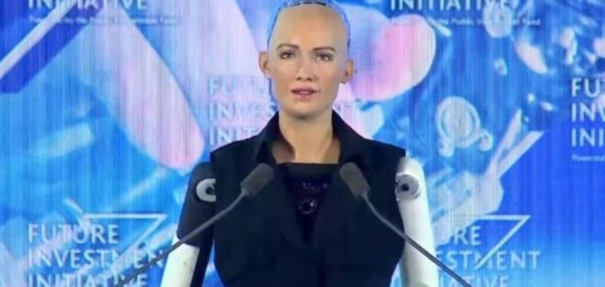 А раніше погодився знищити людей: як робот вперше отримав громадянство