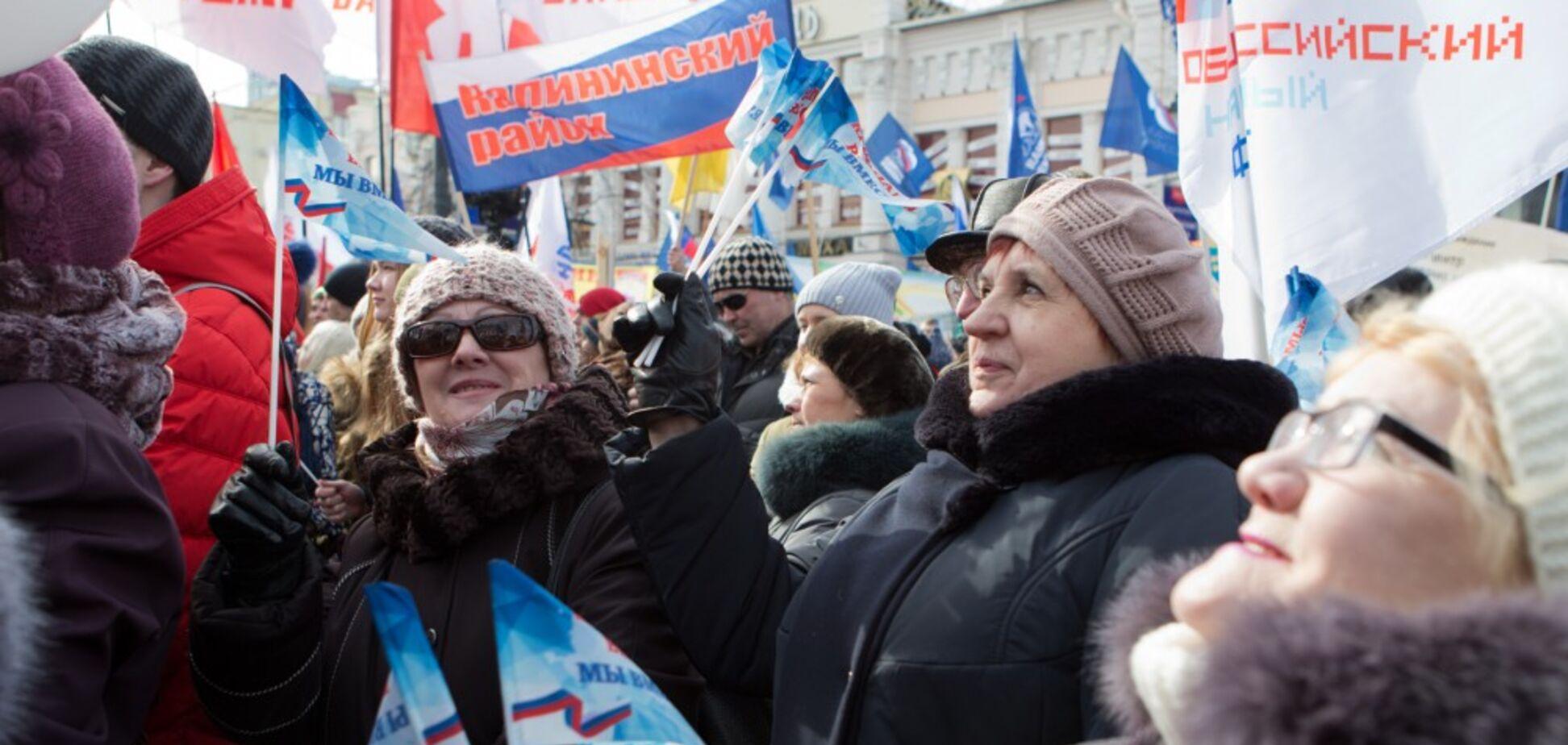 Хмурого россиянина в Крыму легко отличить от улыбчивого украинца