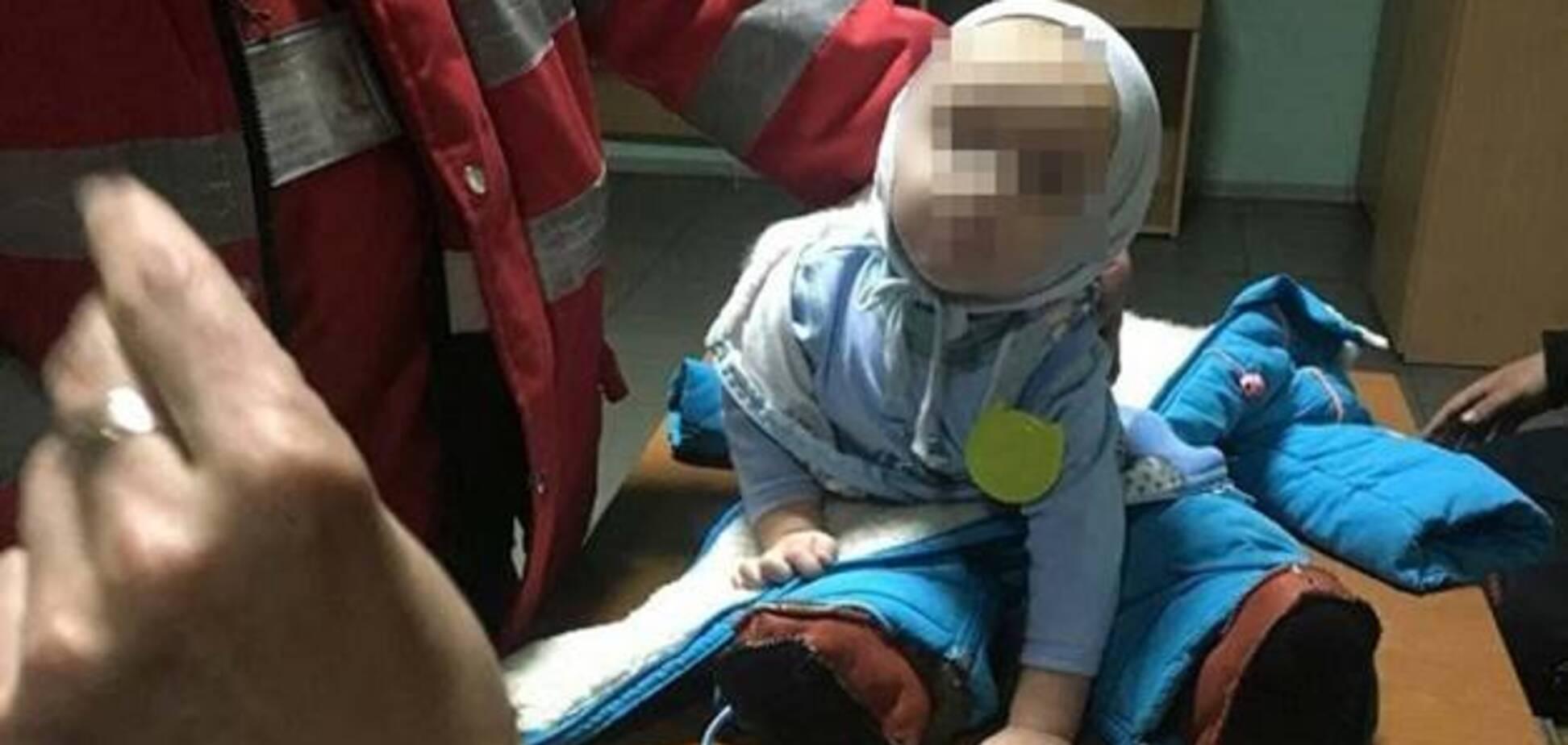 'Ребенок мешал': в Киеве мать бросила 9-месячного сына на вокзале