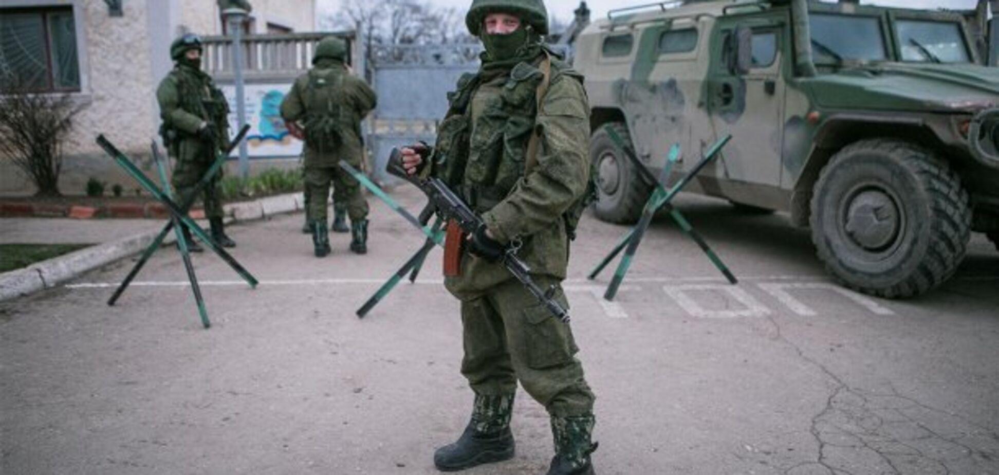 Зеленые человечки, Крым