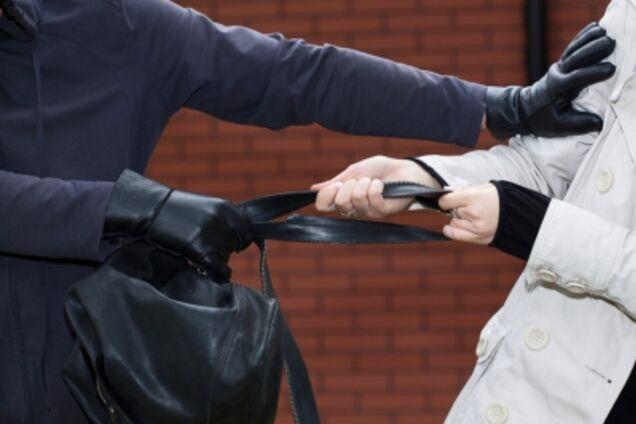 В Космическом микрорайоне Запорожья неизвестный мужчина вырвал из рук  29-летней женщины сумку 13cddf007d423