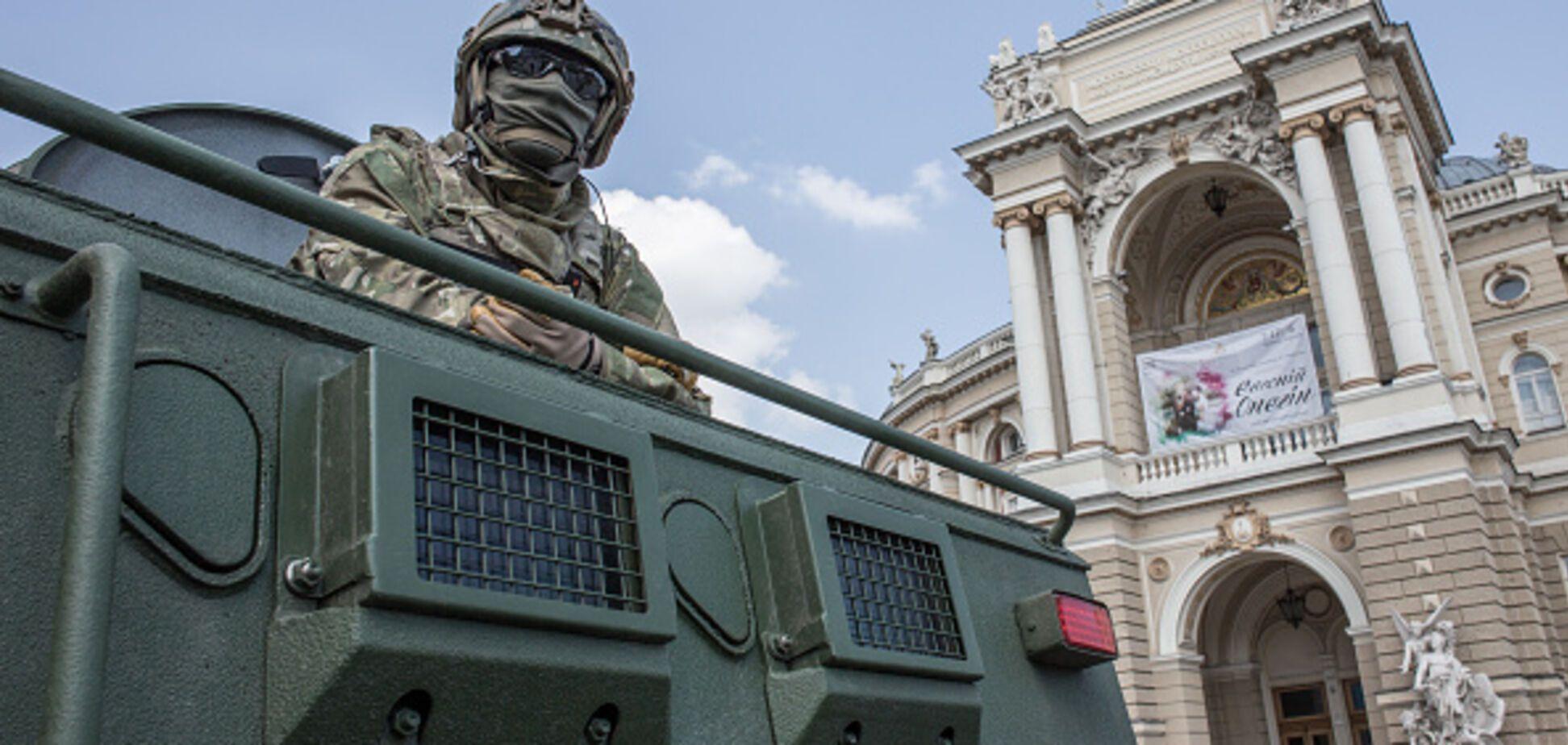 Захват территории военной части в Одессе: Минобороны приняло решение