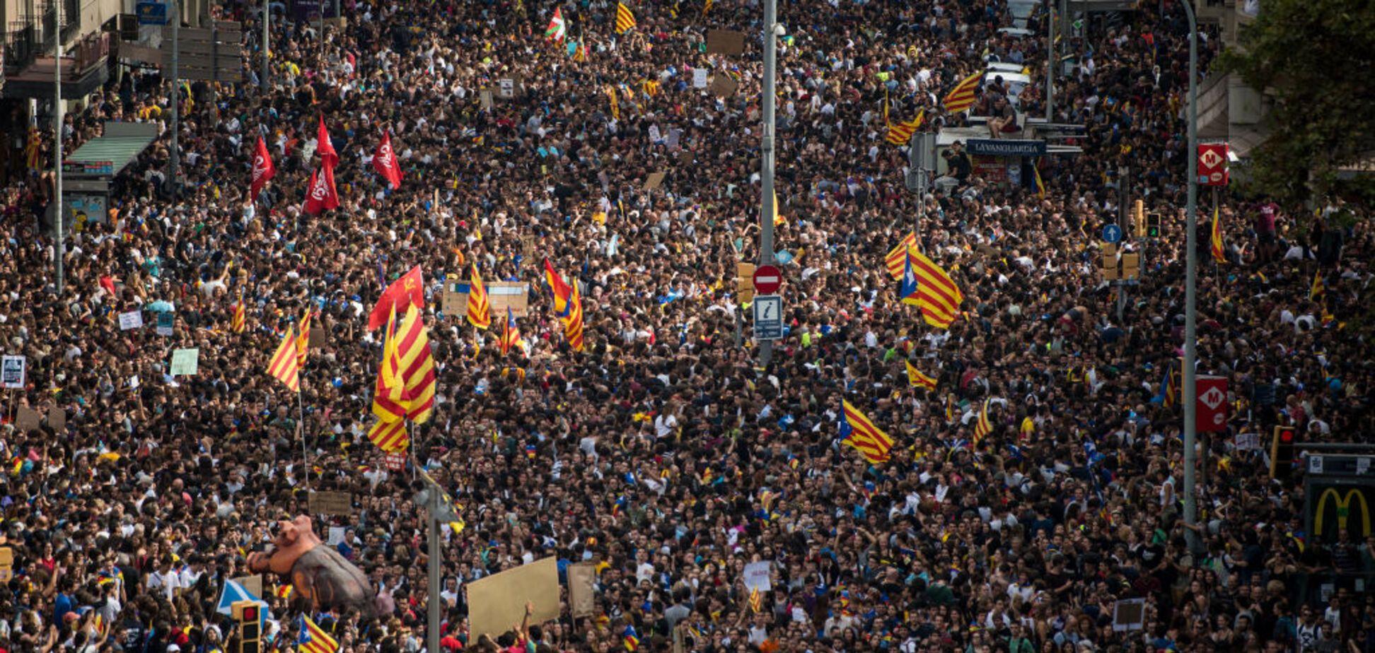 Почему Россия так сильно поддерживает референдум в Каталонии