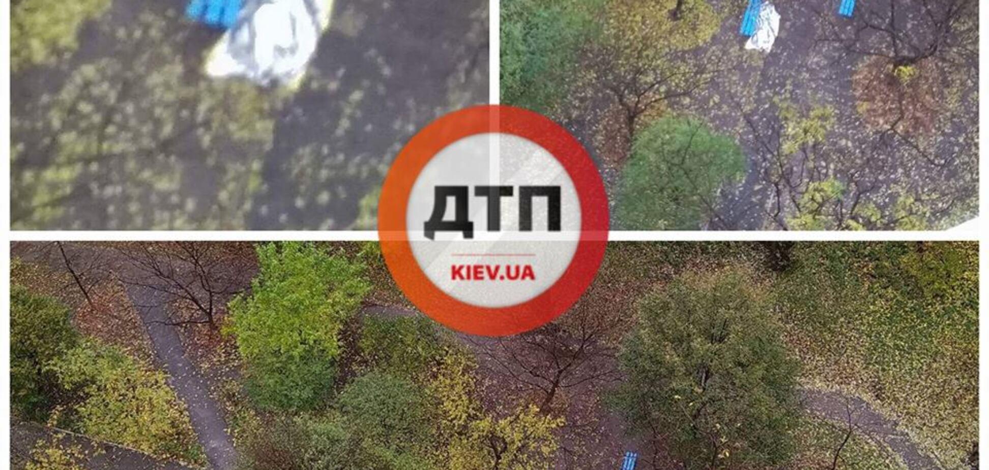 Труп в Киеве