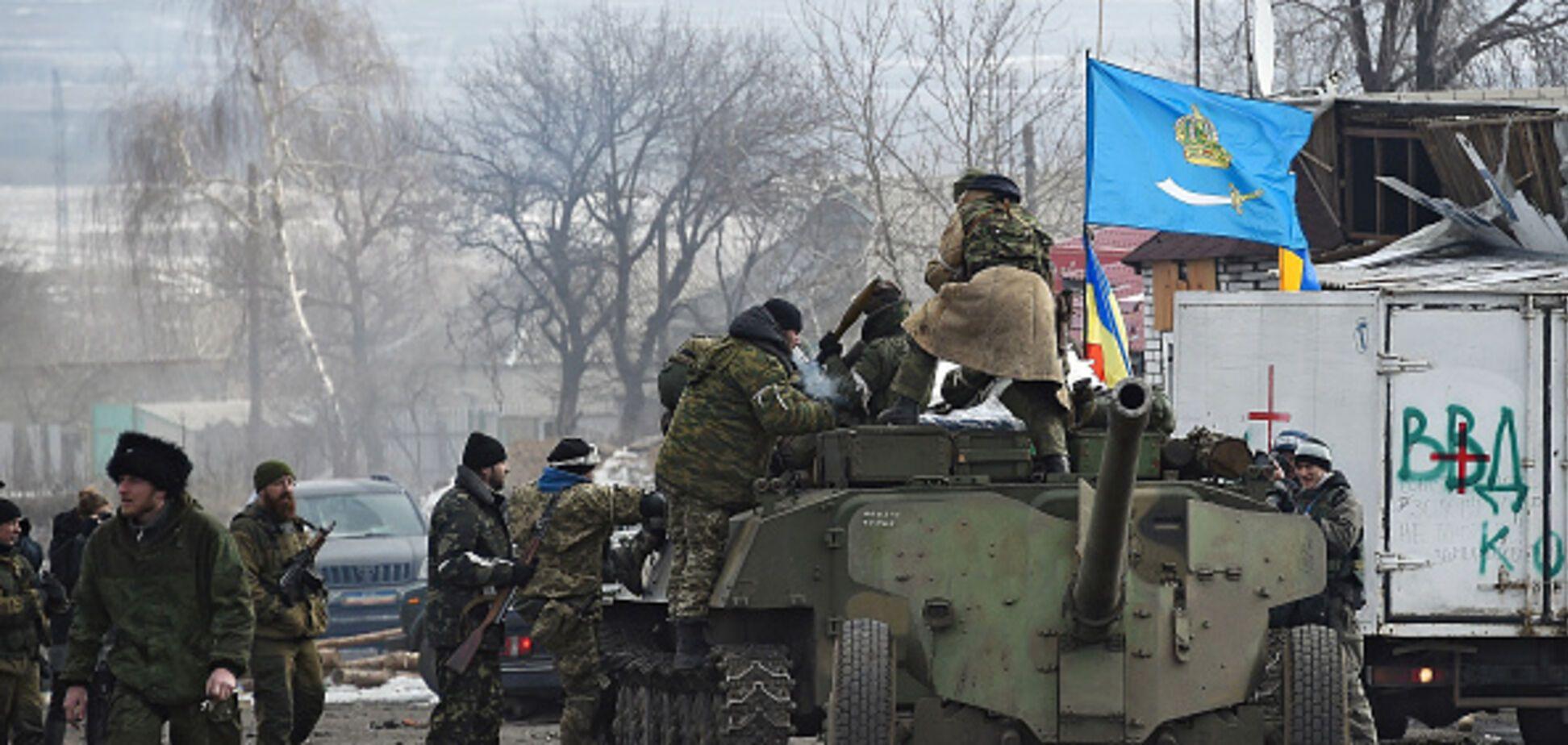 Террористы 'ДНР' 'накрыли' собственные позиции зажигательными снарядами