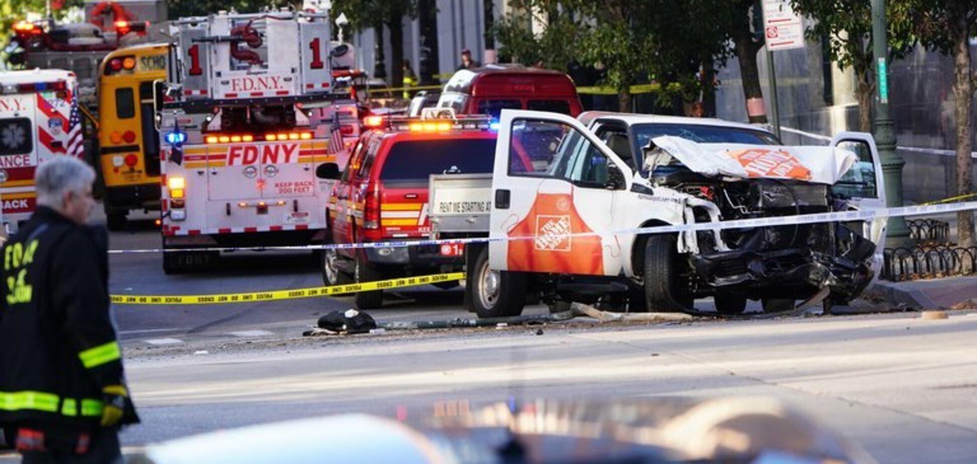 Терористична атака в центрі Нью-Йорка: всі подробиці, фото і відео