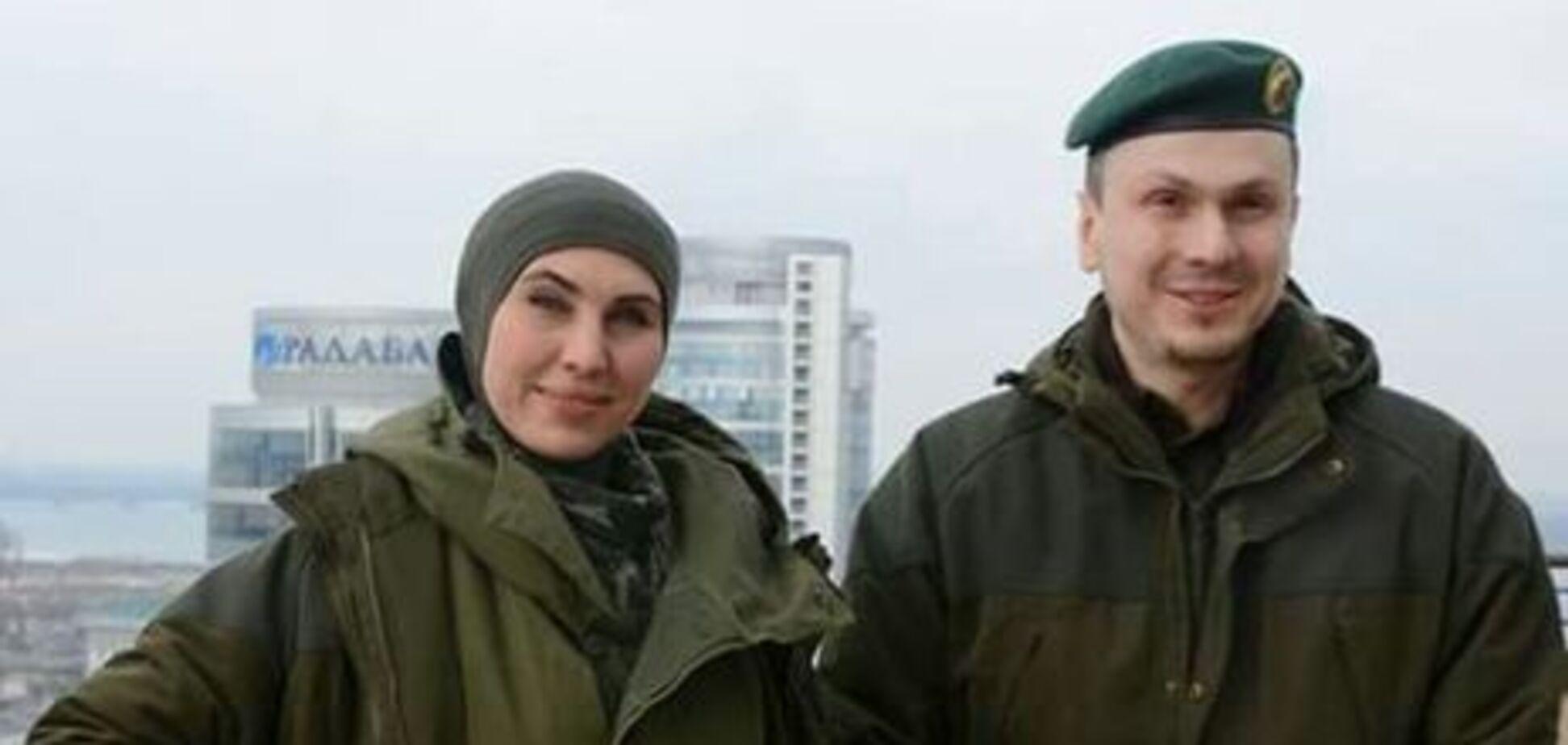 Адам Осмаев и Амина Окуева