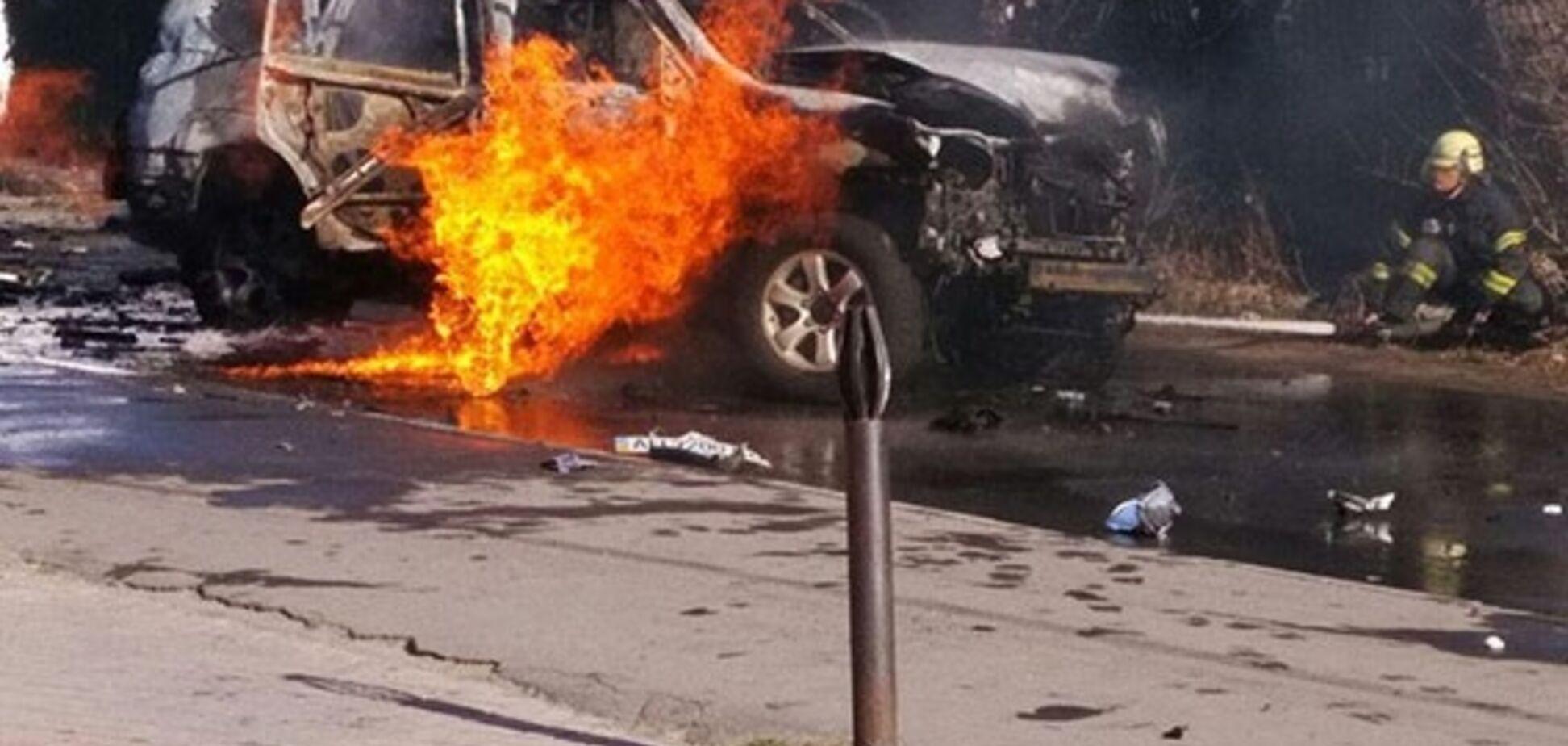 Взрыв авто с полковником СБУ: Грицак сообщил о задержании преступницы