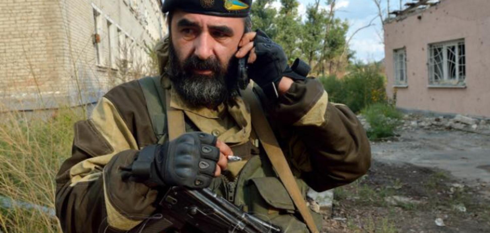 'Вечная память!' На Донбассе погиб известный грузинский доброволец 'Гюрза'