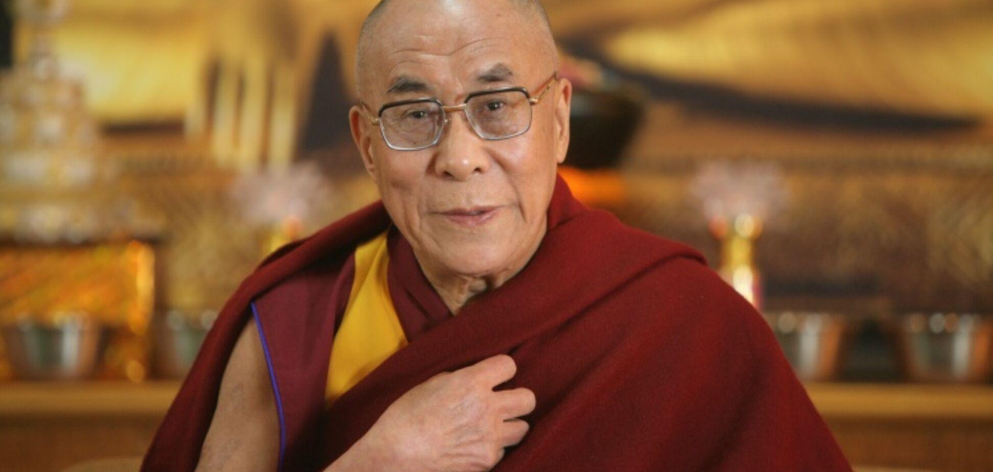 'Я захоплююся їх рішучістю!' Далай-лама зробив комплімент українцям