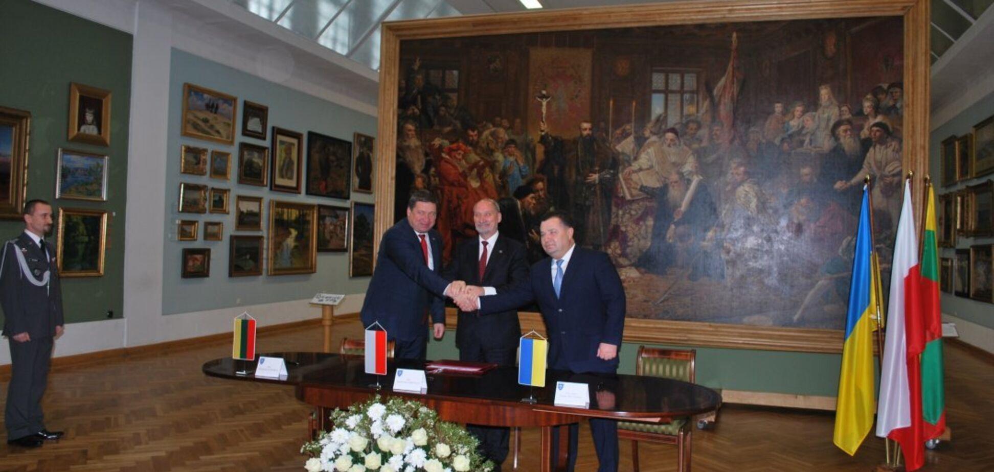 LitPolUkrBrig отримала право діяти: Україна, Польща і Литва підписали військову угоду