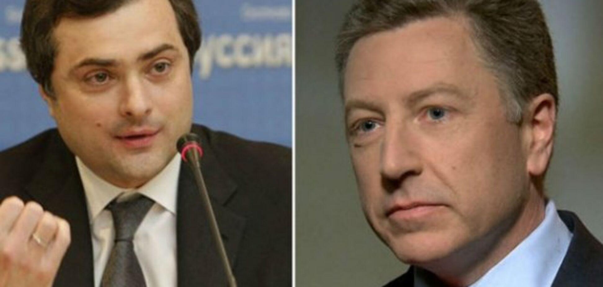 Прив'язати до себе: стало відомо, як Кремль використає зустріч Суркова і Волкера