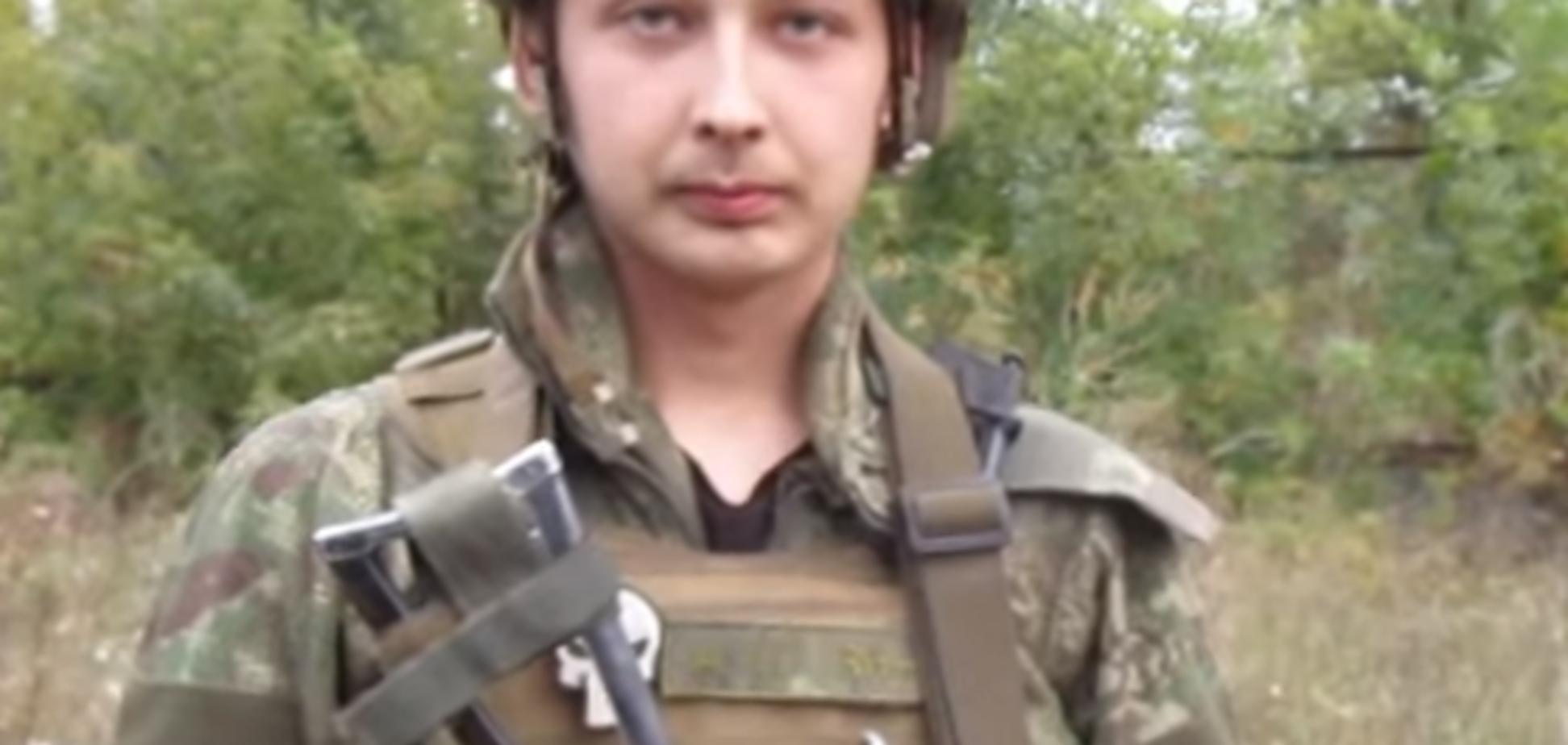 'Все простим': российский доброволец, воюющий за Украину, рассказал о панике террористов