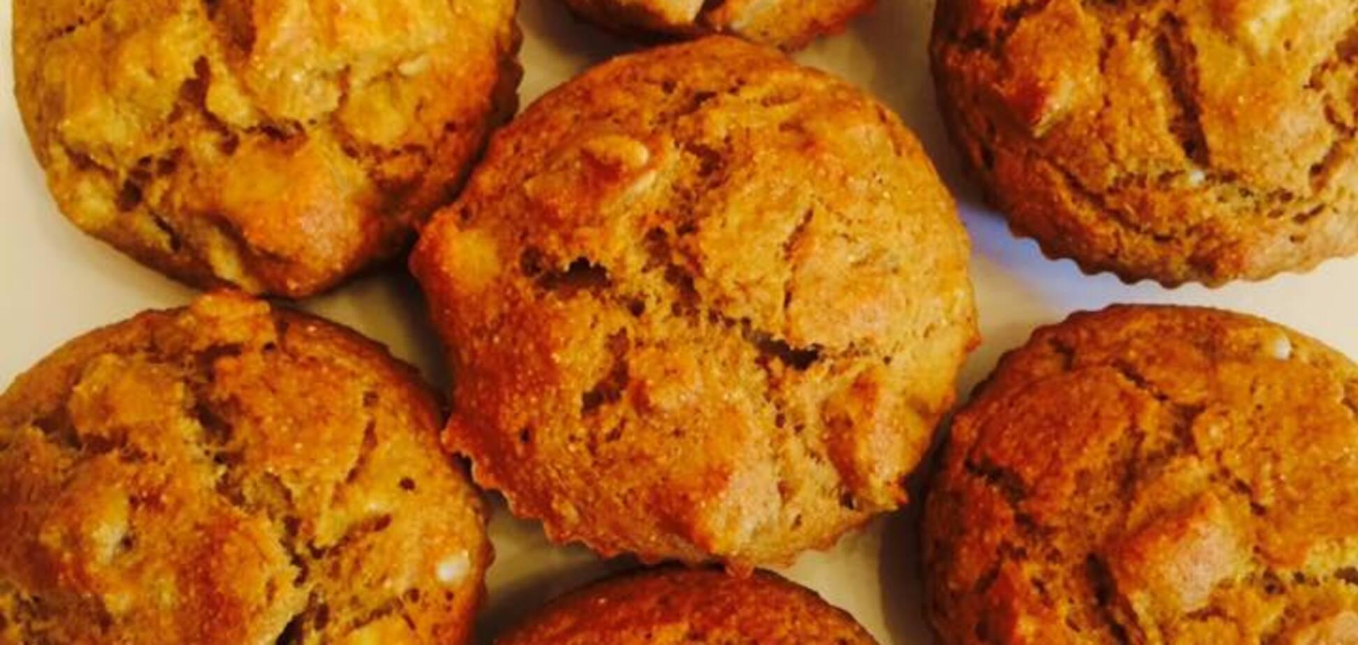 Как приготовить полезные кексы с тыквой, яблоком и морковью