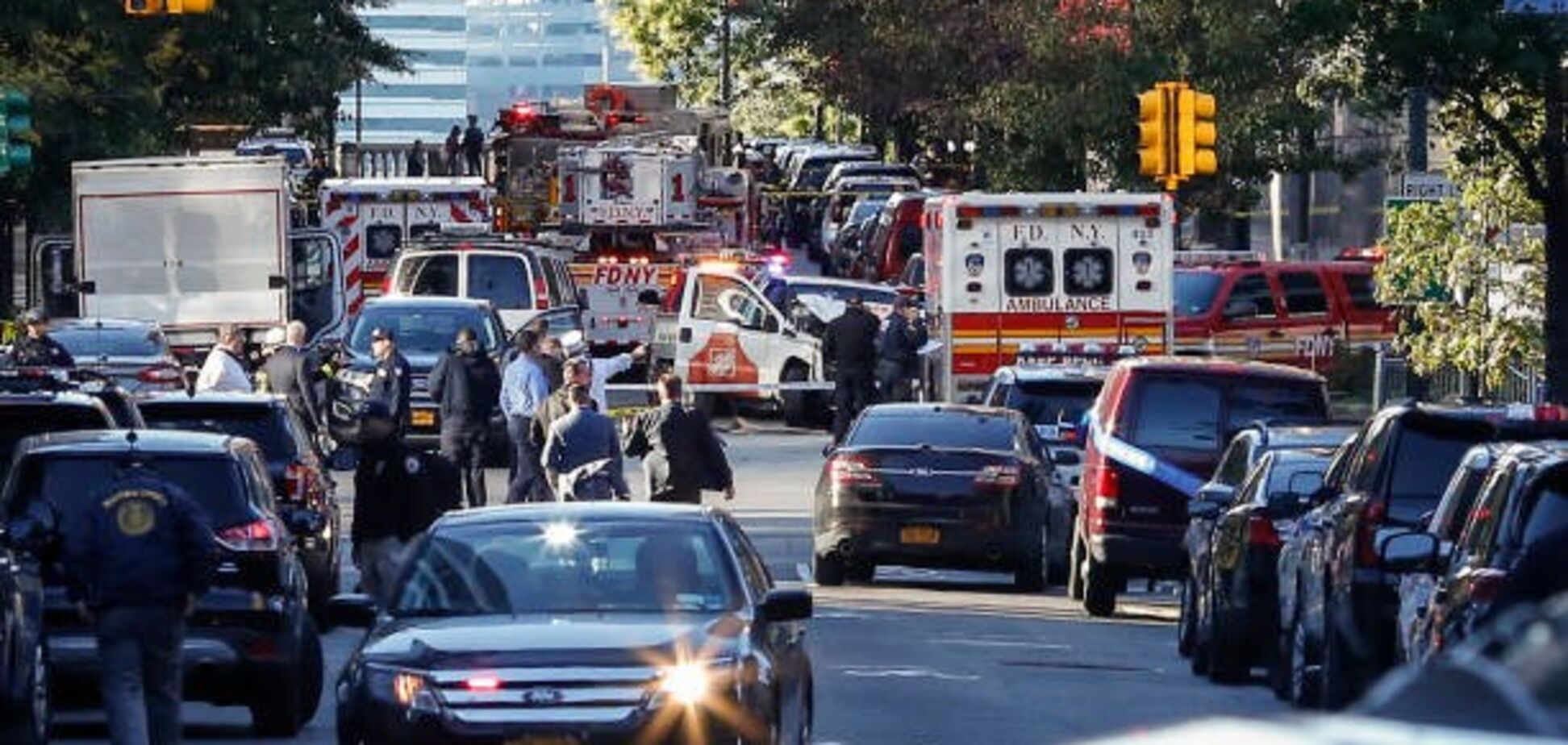 Теракт в Нью-Йорку: підозрюється виходець із СНД