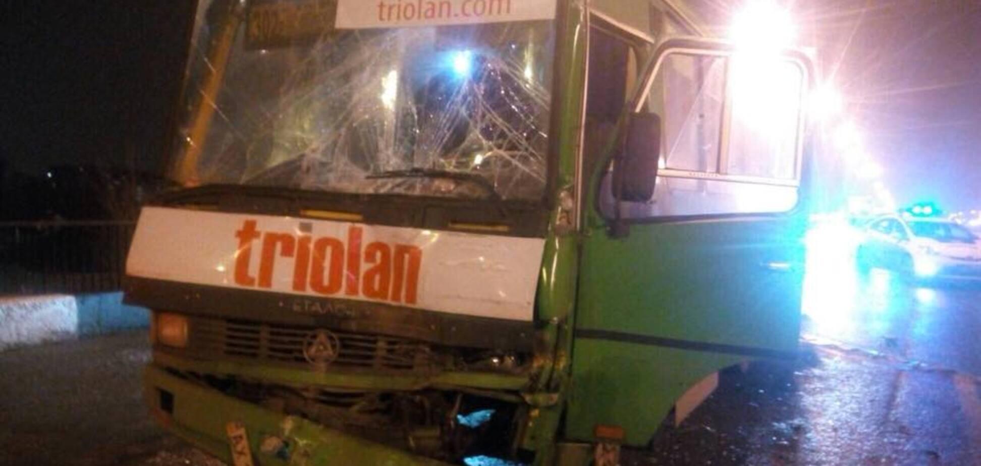 В Харькове произошла новая масштабная авария: более десятка пострадавших