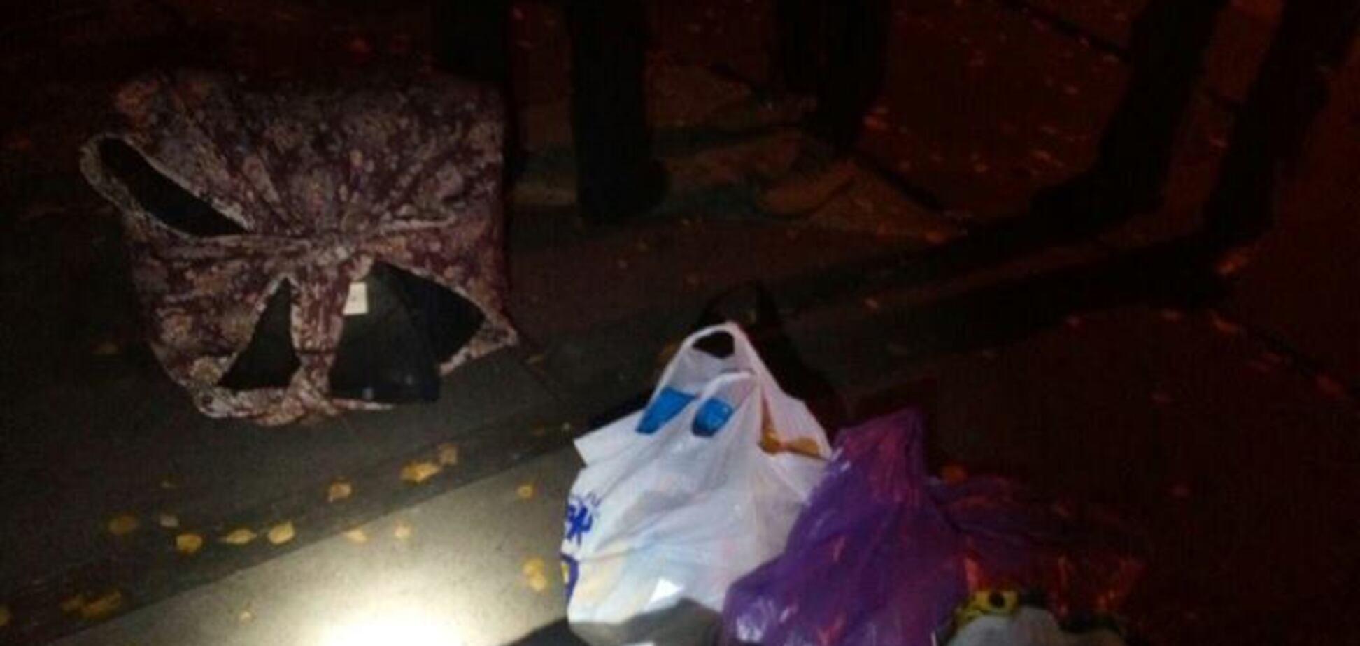 Ограбление детсада в Киеве