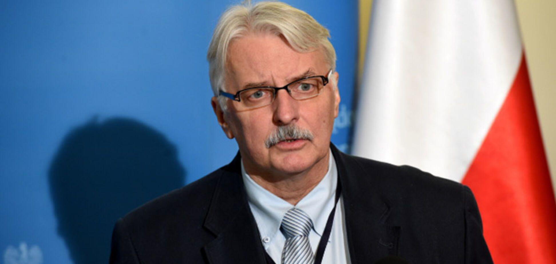 Включили заднюю? Глава польского МИД странно отреагировал на скандал с Вятровичем