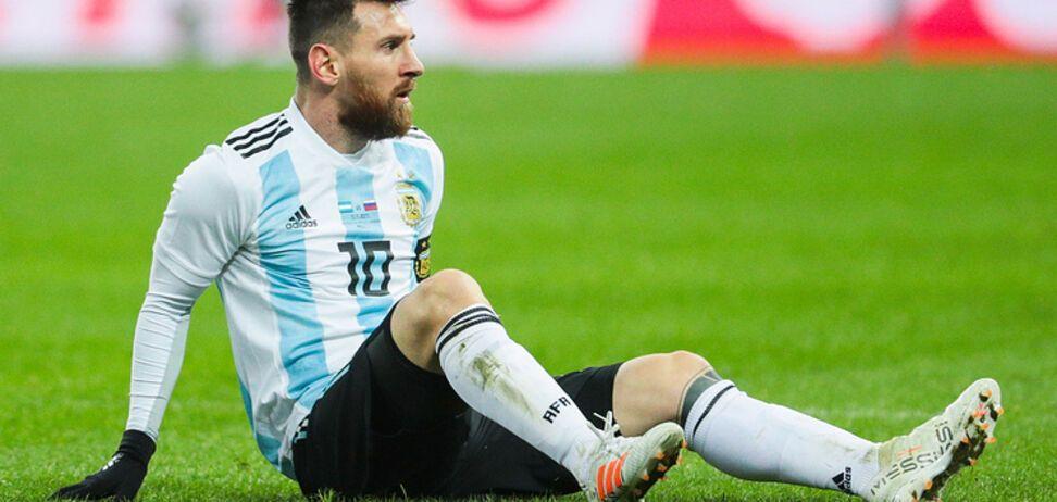 Мессі відмовився грати в Росії у другому матчі збірної Аргентини