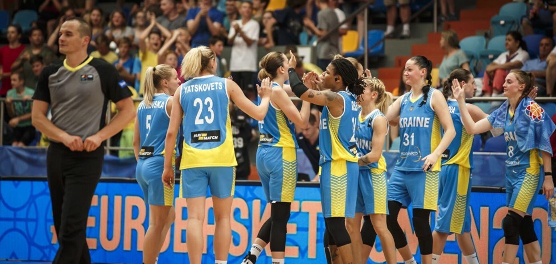 Женская сборная Украины