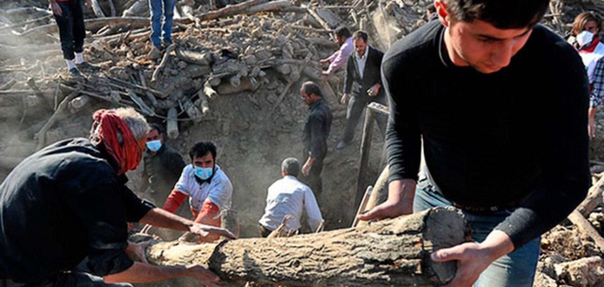 Землетрус в Ірані: Україна опинилася в тому ж сейсмоактивном поясі