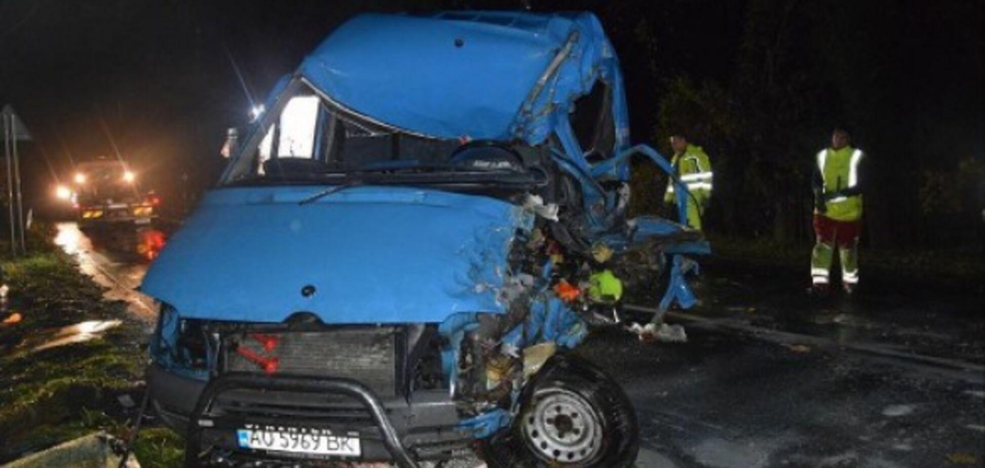 В Словакии разбился автобус с украинцами: есть жертвы