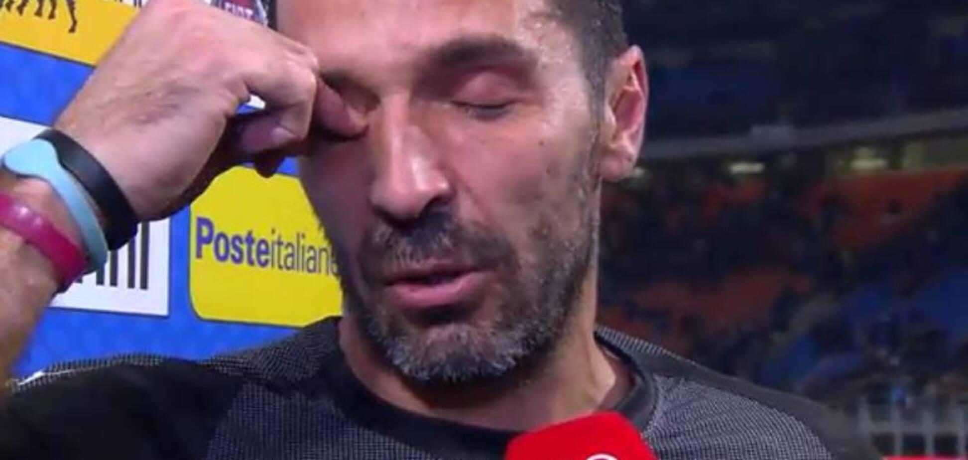 Легенда збірної Італії розридався, оголосивши про завершення кар'єри: опубліковані зворушливі фото
