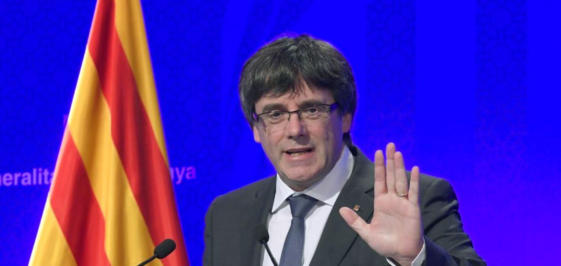 Экс-лидера Каталонии Пучдемона выпустили на свободу