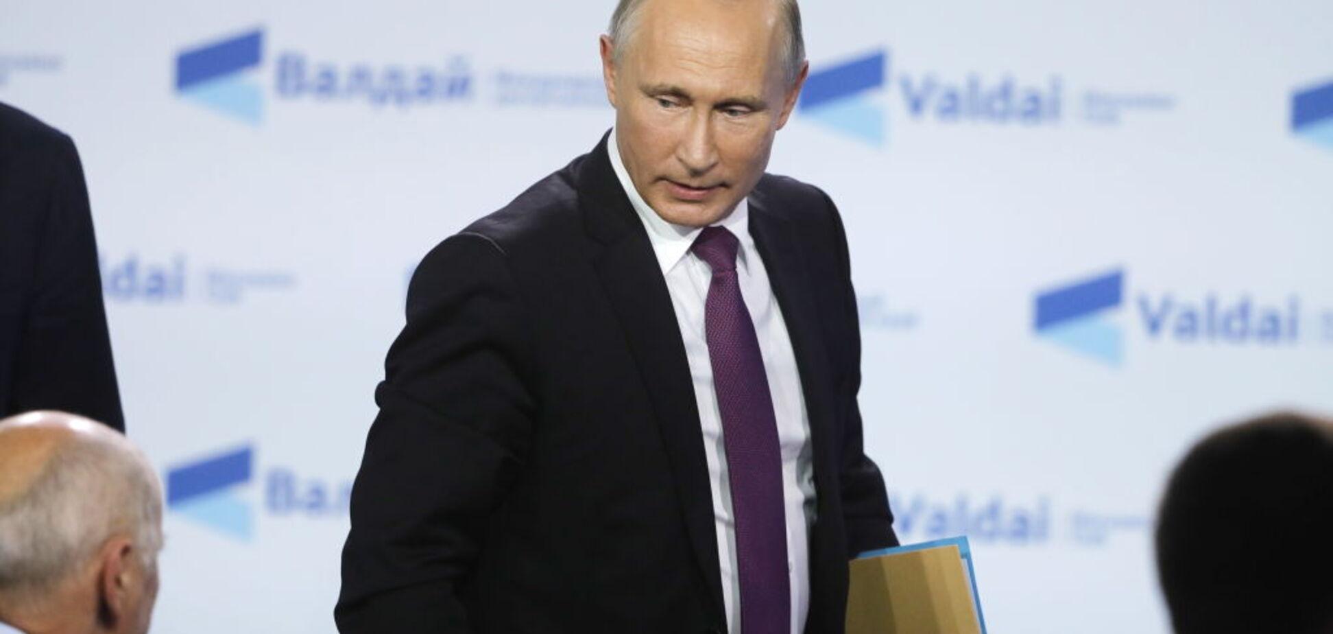 Путин держит интригу до последнего