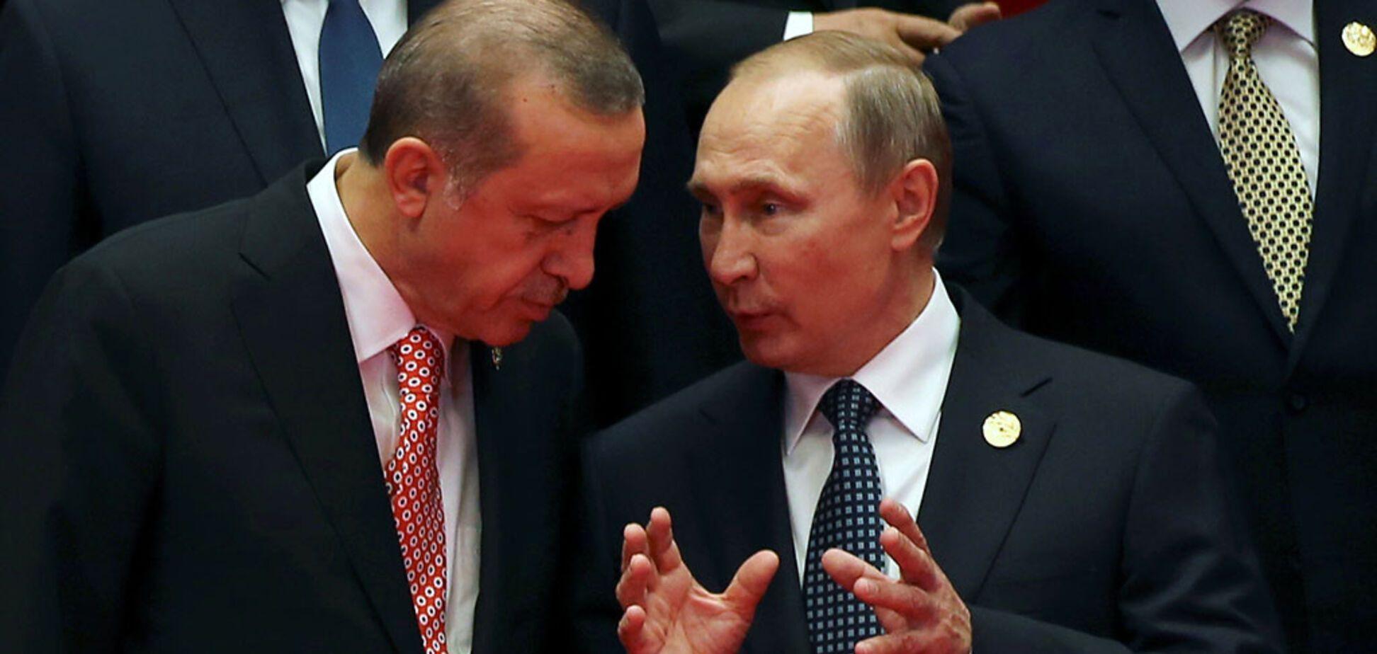 'Два паука в банке': Путину и Эрдогану предрекли скорую ссору