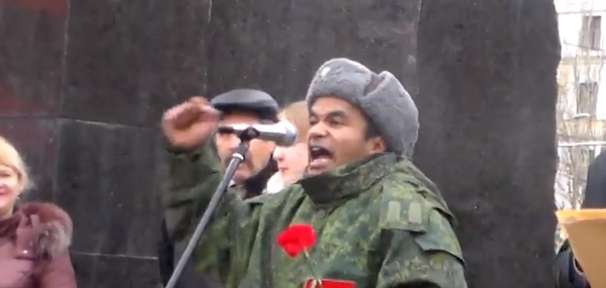 Вызывайте экзорциста! В сети истерика из-за выступления 'Черного Ленина' в Донецке