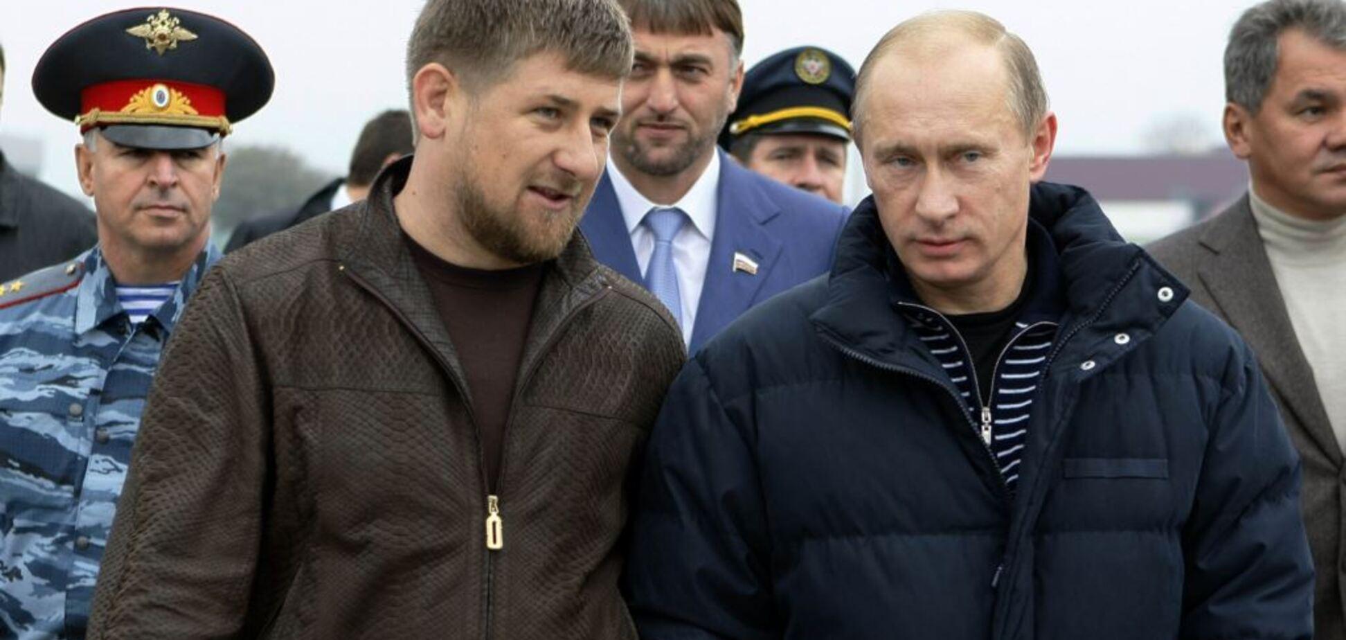 Володимир Путін і Рамзан Кадиров