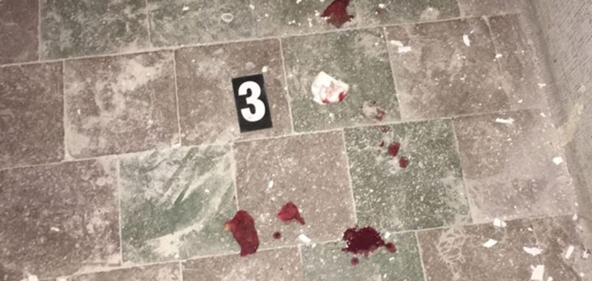 Взрыв гранаты в Ривне