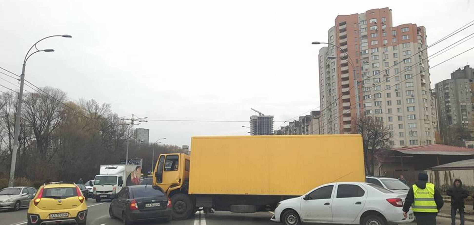 ДТП, Киев
