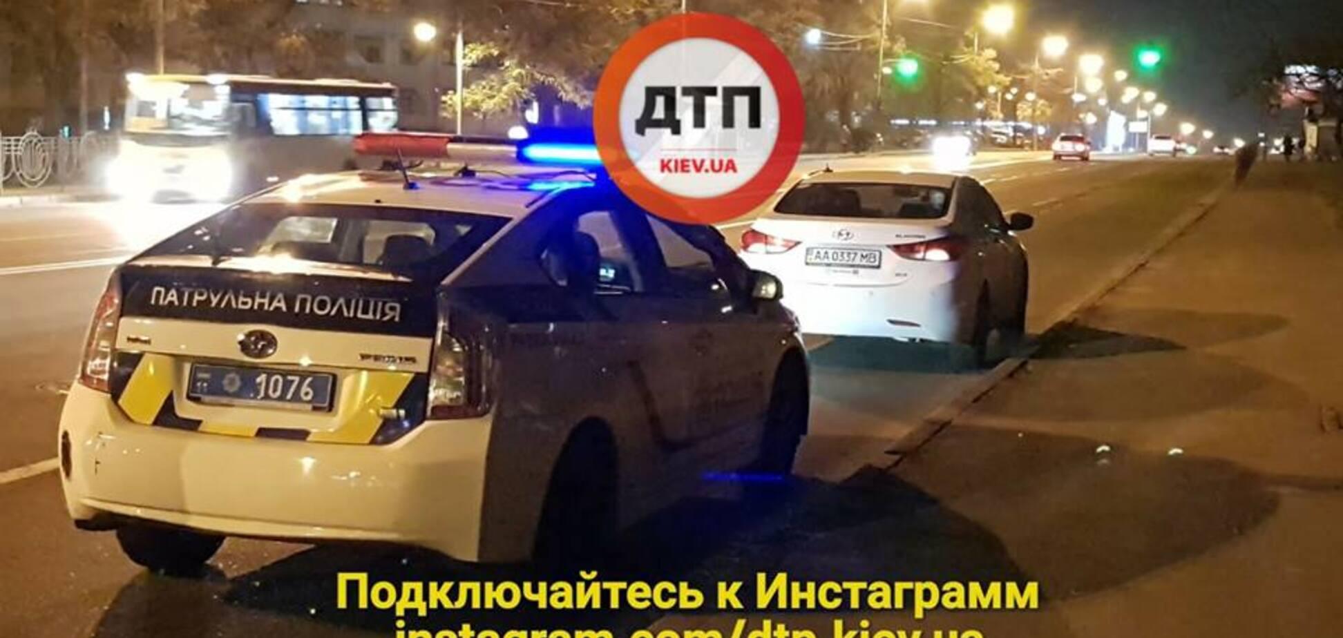 ДТП, Киев, Харьковское шоссе, пешеход, ПДД