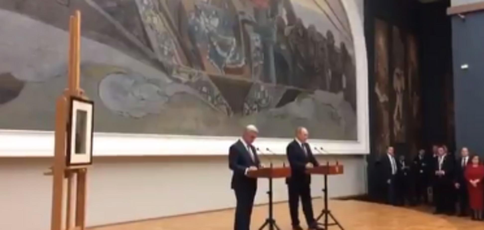 Владимир Путин и Серж Саргасян