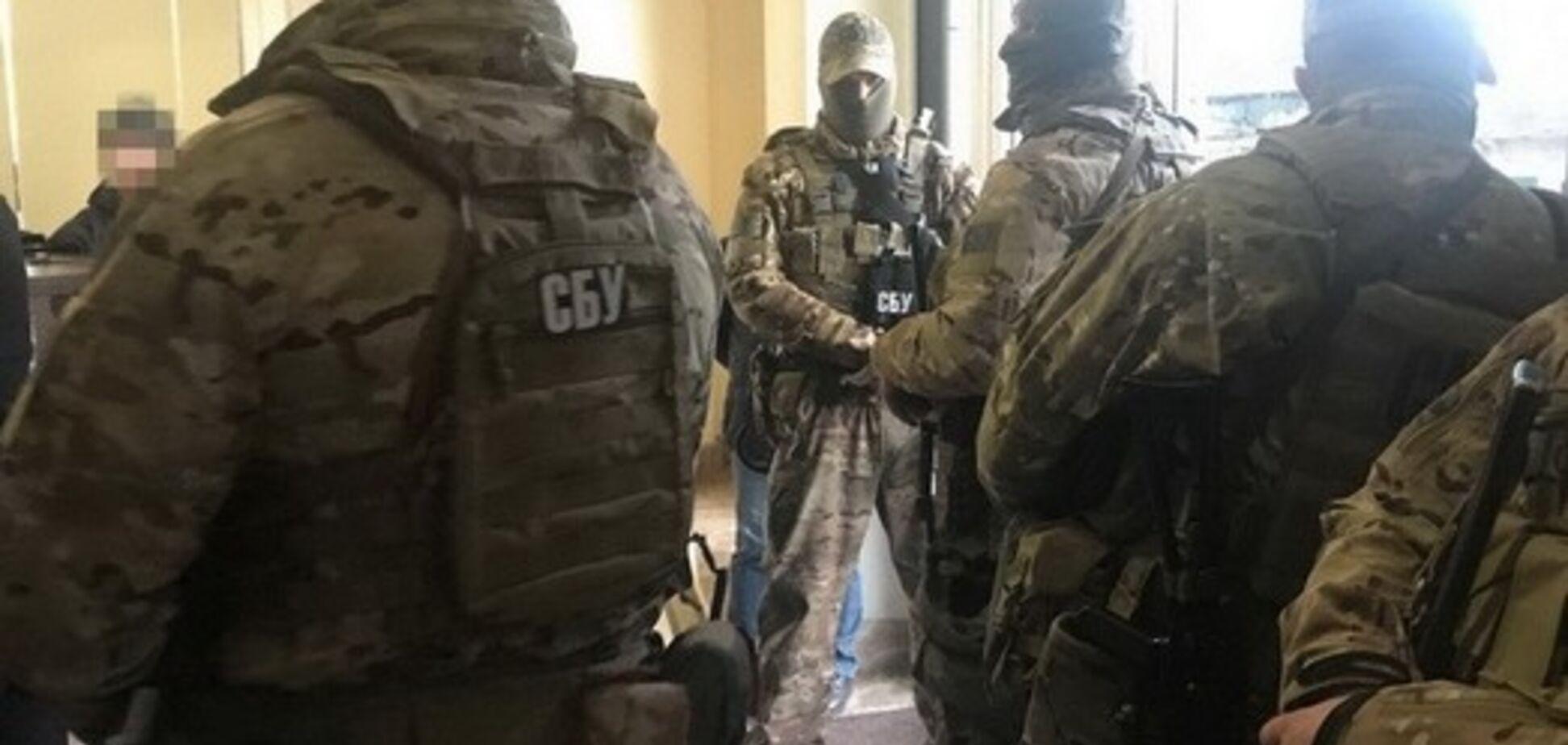 СБУ заблокировала офис 'Кадорра' в центре Одессы
